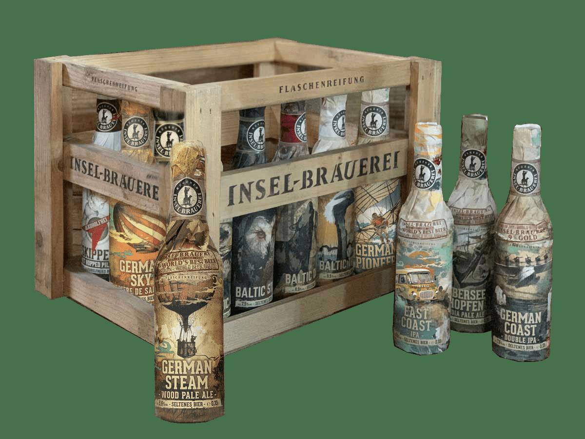 TASTING Bundle incl. Original Wooden Crate - Vintage Edition