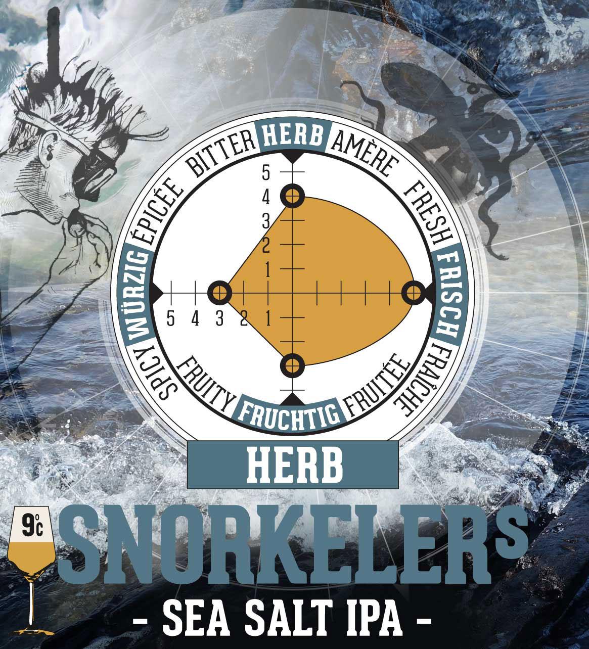 Snorkelers Sea Salt IPA - alkoholfrei