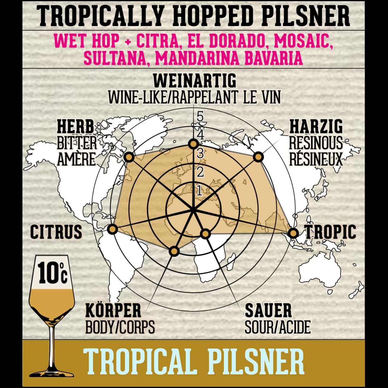 Tropical Pilsner - 0,33 l