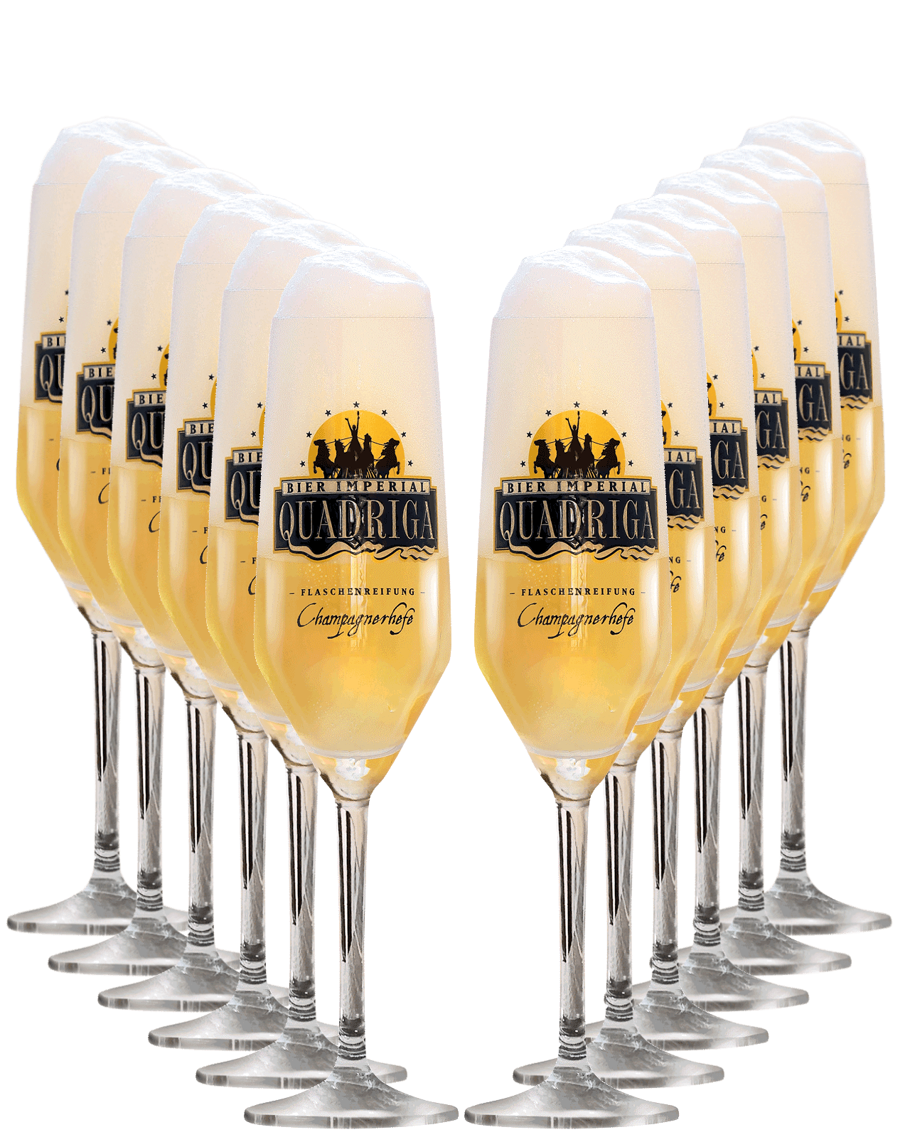 12 x Quadriga Glass - Imperial